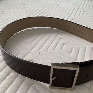 Nine West brown belt